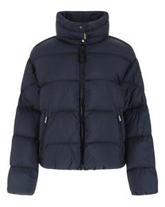 Navy blue nylon Missie down jacket
