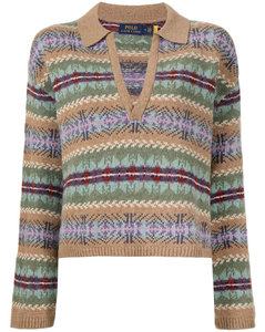 Fair-Isle wool jumper