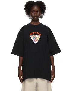 黑色Brittle T恤