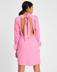 Leaf Pattern Knitted Poncho