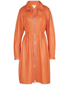 Orange Long parka