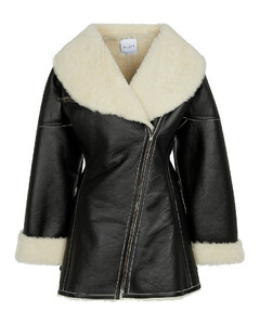Edition 1987羊毛皮和皮革大衣