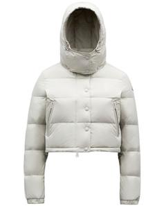 Avoine light gray down jacket