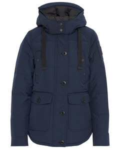 Woman Godbout Quilted Shell Hooded Down Jacket