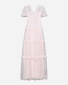 La Vest Paiou cropped shearling-trimmed jacket
