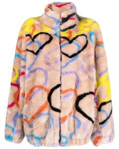 针织双排扣西装式外套