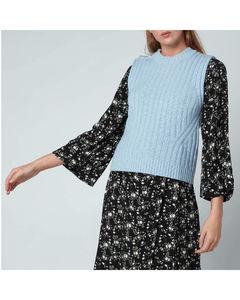 Women's Wool Mix Jumper - Airy Blue