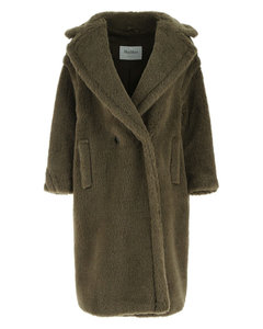 Khaki wool blend Tdgirl oversize coat