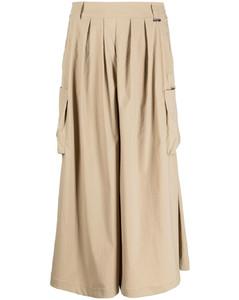 Maria faux-fur oversized coat