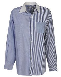 Smoke long faux fur