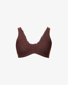Women's Printed Elasticated Midi Skirt - Medium Orange