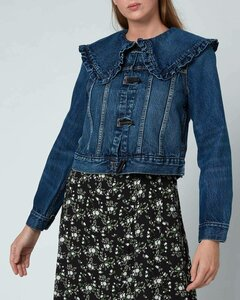 Women's Heavy Denim Jacket - Dark Indigo