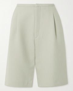 Lluc Pleated Twill Shorts