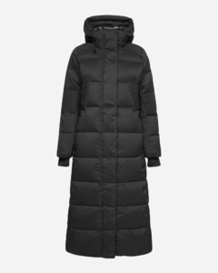 Alliston hooded quilted nylon down jacket