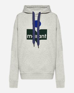 Mansel logo cotton-blend hoodie