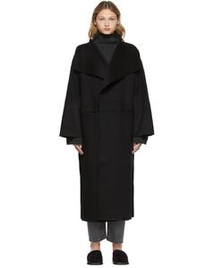 黑色Signature大衣
