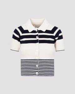 Wool and Cotton Polo