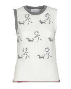 Pressed-crease tailored trousers