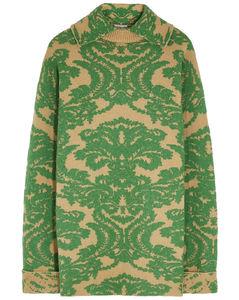 Timara intarsia wool-blend jumper
