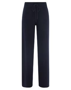 Sofi high-rise cashmere straight-leg trousers