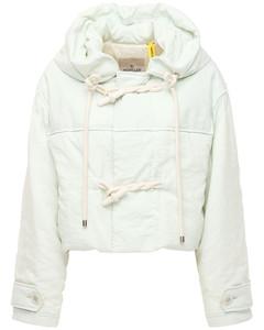 Whitepearl Silk Blend Short Down Jacket