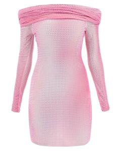 蓝色Dolphins Heart Logo连帽衫