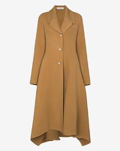 handkerchief single-breasted coat