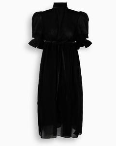Black velvet Eda dress
