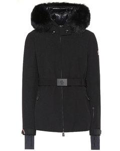 Bauges毛皮边饰夹克