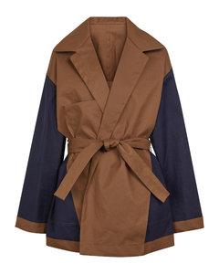 Reversible cotton coat