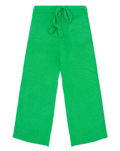 Skater cropped cashmere trousers