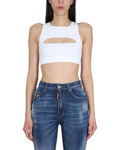 Ruffles shirt dress in black