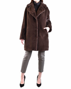 Rupi striped cable-knit cotton cardigan