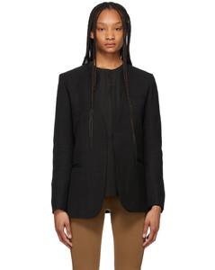黑色Pine Suit西装外套