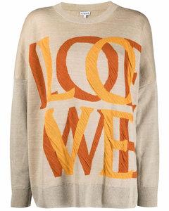 Love jaquard sweater