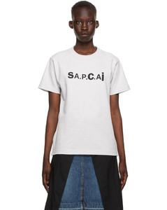 灰色Sacai联名Kiyo T恤