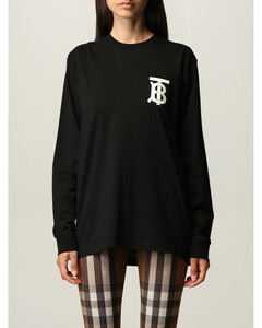 cotton T-shirt with TB logo