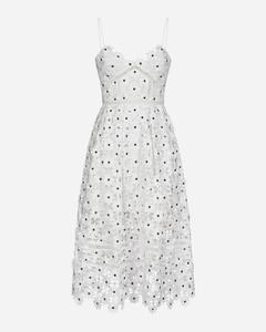 Azalea lace midi dress