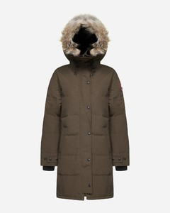 Shelburne hooded quilted nylon parka