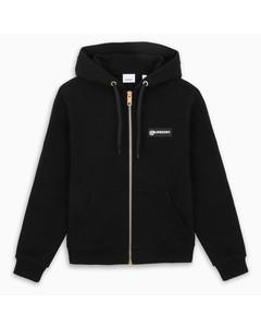 Black Aubree zip sweater