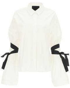 Shirts Red Valentino for Women Bianco Nero