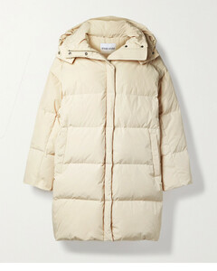Lyla Hooded Quilted Shell Recycled Down Coat