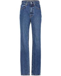 High Waist Slim Stacked Jean - Vintage Dark Indigo