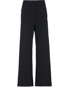 Wide Leg Sweatpants - Black