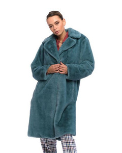 Sleeping Bag Coat - Green/Black