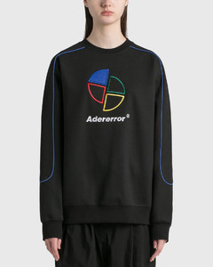 Sliced Logo Sweatshirt