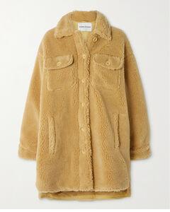 Sabi Oversized Faux Shearling Jacket