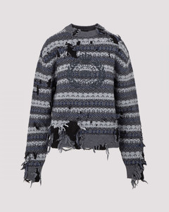 Destroyed Wool Sweater