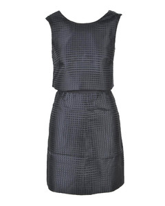 Cleofe medium quilted nylon down jacket