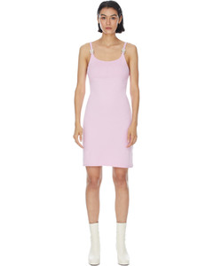 Knit Disco Dress - Pink